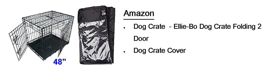 Amazon Dog Crate Cover