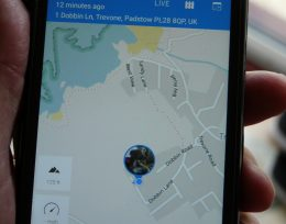 Dog Tracker street \Map